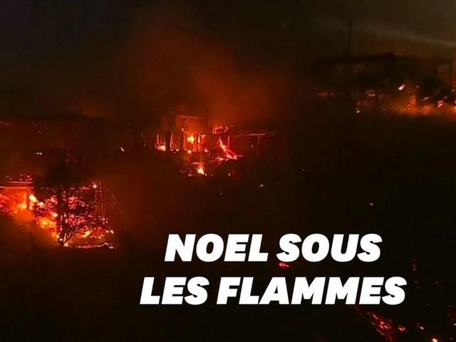 Au Chili, un incendie a ravagé 245 maisons à l'aube des festivités