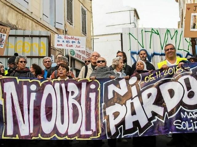 Drame de la rue d'Aubagne. Un an après, des milliers de Marseillais dans la rue