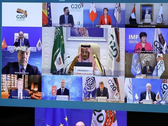 """Le G20 promet une distribution """"équitable"""" des vaccins contre le Covid-19"""
