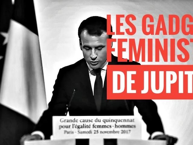 551ème semaine politique: les gadgets féministes de Macron.
