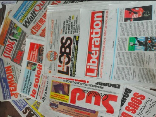Le coronavirus met les gaz dans la presse sénégalaise