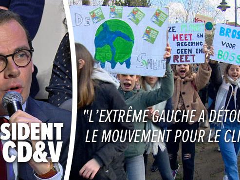 Le climat bouleverse la campagne électorale en Flandre: le CD&V accuse les jeunes manifestants d'être manipulés