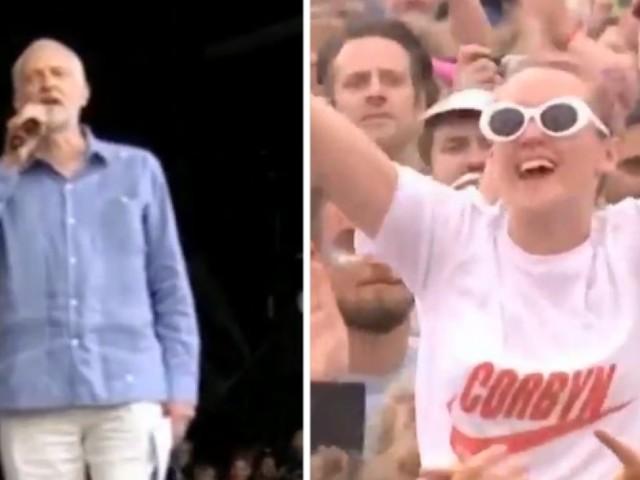 Festival Glastonbury 2017: accueilli en rock star, Jeremy Corbyn avait un message pour Donald Trump