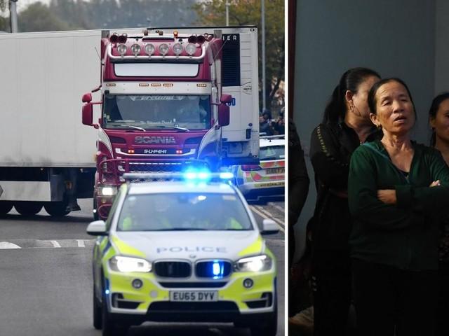 La police britannique pense que les 39 personnes retrouvées à bord d'un camion en Angleterre étaient d'origine vietnamienne