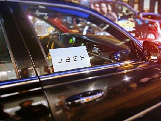 Uber étend son activité publicitaire aux toits desvéhiculesdes chauffeurs