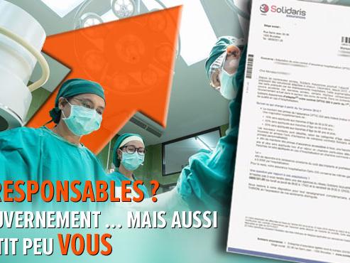 Le prix des assurances hospitalisation augmente encore: à cause des suppléments d'honoraires des médecins en chambre individuelle