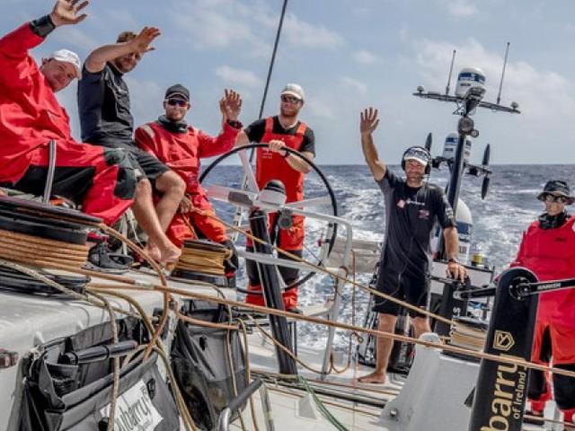 Volvo Ocean Race. Scallywag s'impose à Hong Kong! Dongfeng 2e?