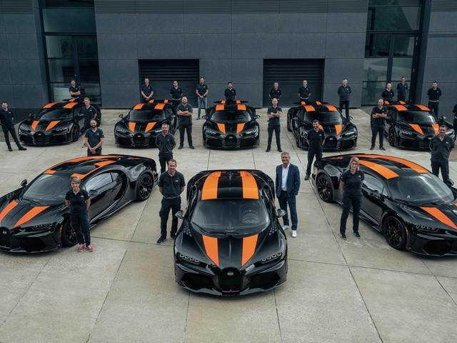 La photo de famille Bugatti qui donne le vertige
