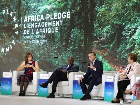 En Afrique de l'Est, Macron appelle à placer l'environnement au cœur de l'économie