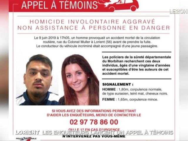 Enfants fauchés à Lorient : la passagère de la voiture mise en examen et écrouée