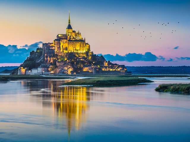 Le Mont-Saint-Michel fête les 40 ans de son inscription à l'UNESCO