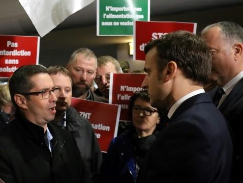 Agriculture: Emmanuel Macron inaugure un salon plombé par la désunion européenne