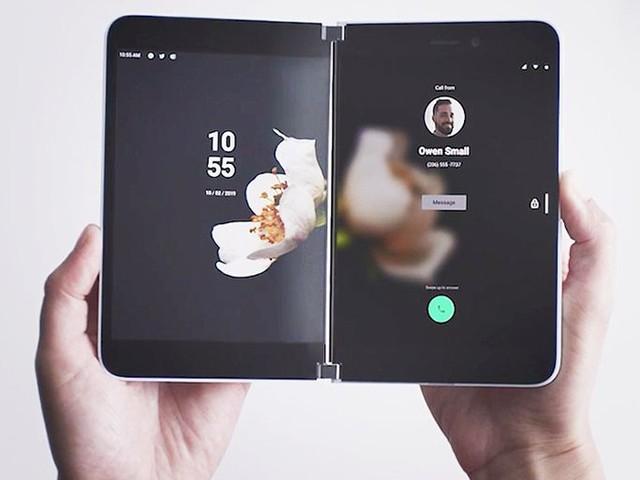 Actualité : Surface Duo : premiers rendus d'interface grâce à la sortie d'un kit de développement préliminaire