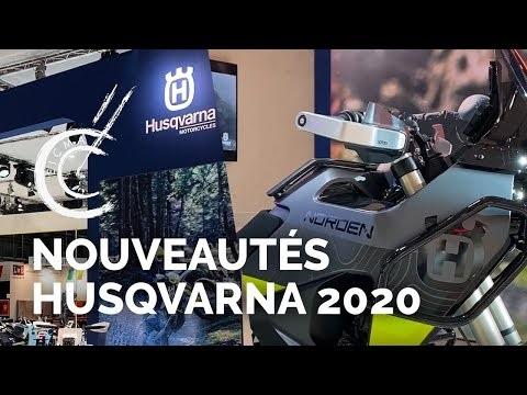Nouveautés motos Husqvarna 2020