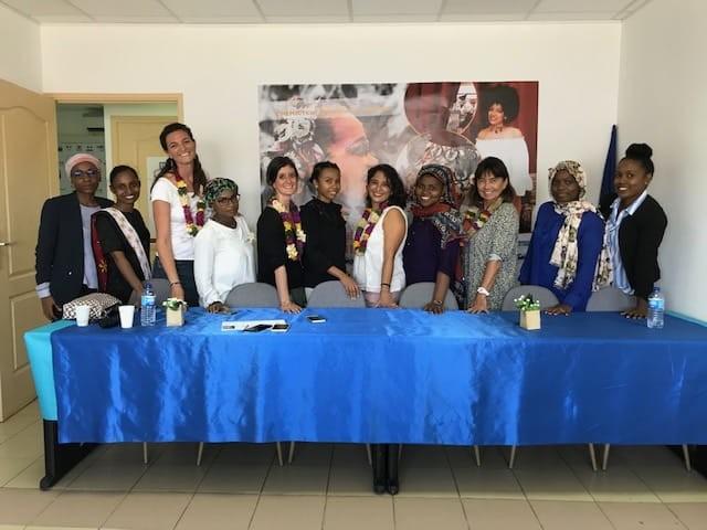 Echanges Régionaux Réunion / Mayotte: 3ème salon de l'entrepreuneriat au féminin & marche pour l'égalité