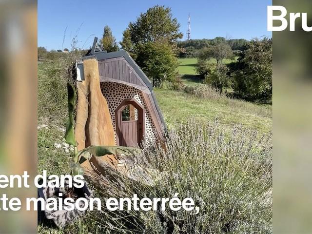 VIDEO. En Dordogne, ils vivent dans une maison autonome bâtie... avec des déchets