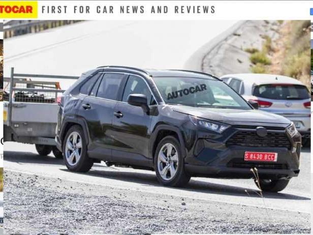 Toyota RAV4 (2019): bientôt hybride rechargeable ?