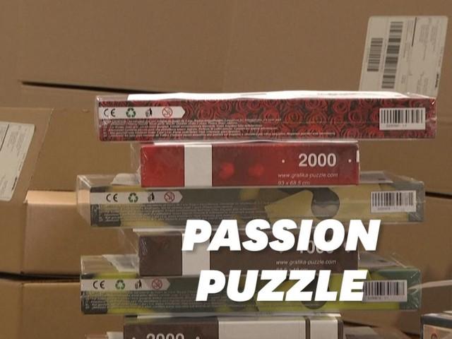 Confinement et couvre-feu ont fait la fortune de ce vendeur de puzzle
