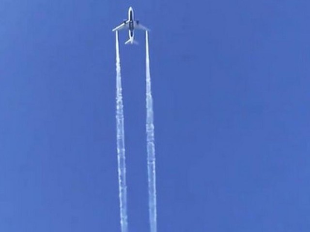 Un avion en difficulté largue son carburant au-dessus d'une école californienne