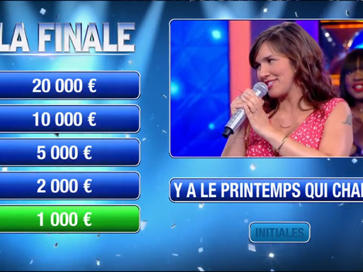 « N'oubliez pas les paroles » du 19 août : avec 51 000 euros en 9 victoires, jusqu'où ira Julie ? (replay)
