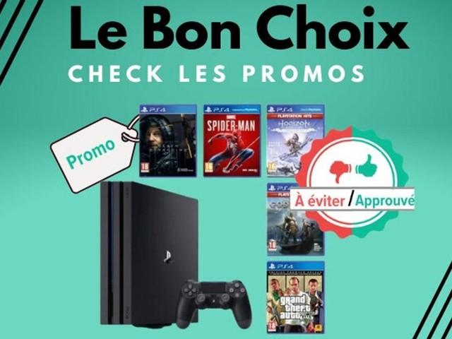 La PS4 Pro et 5 jeux en promo sur Cdiscount, on valide ou pas?