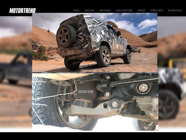 Land Rover Defender (2020) : photos révélatrices