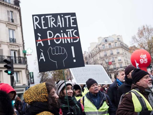 Suivez en direct la deuxième journée de manifestations contre la réforme des retraites