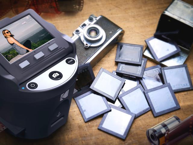 CES 2018 : Kodak Scanza transforme vos vieux négatifs en images numériques