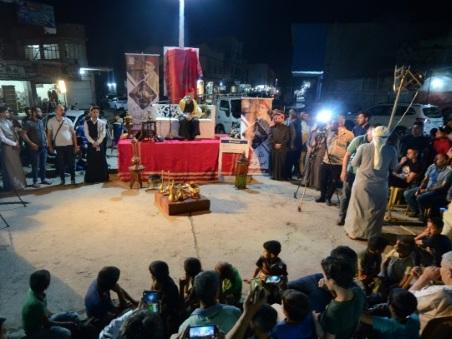 En Irak, contes et compétitions pour animer les nuits du ramadan
