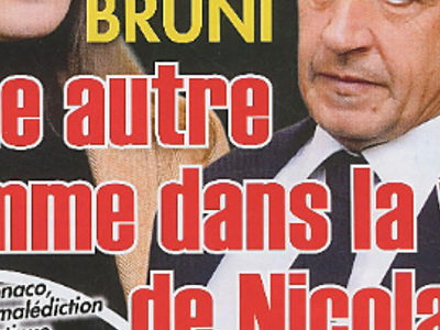 Carla Bruni, jalousie, l'autre femme de Nicolas Sarkozy (photo)