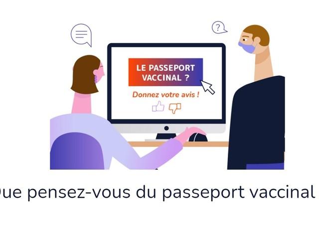 Passeport sanitaire/vaccinal : c'est parti pour la grande enquête citoyenne !