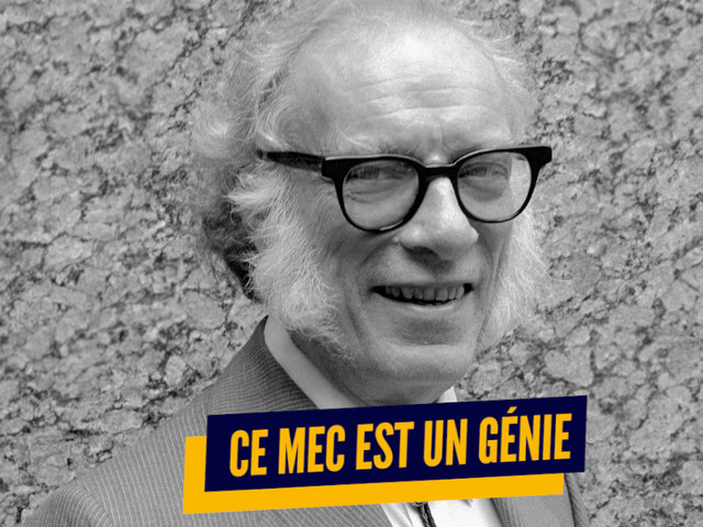 Top 10 des raisons de vénérer Isaac Asimov, le dieu de la science-fiction