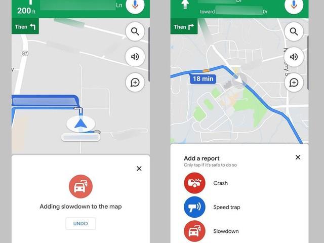 Google Maps : le signalement des incidents routiers bientôt sur iOS