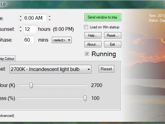 SunsetScreen : ajustant automatiquement la luminosité de votre moniteur