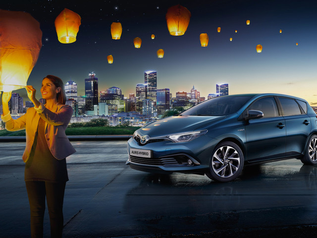 Toyota   La gamme Hybride