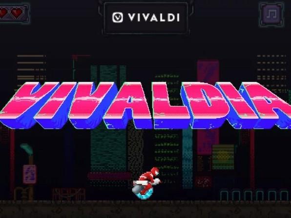 Le navigateur Web Vivaldi fait revivre les années 80 en intégrant un jeu d'arcade rétro