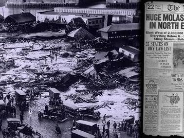 15 janvier 1919. Le jour où une fillette meurt dans la mélasse à Boston