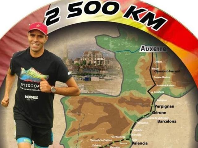 Auxerre-Bzou Challenge: Un athlète franco-marocain se lance le défi de relier la France au Maroc en course à pied