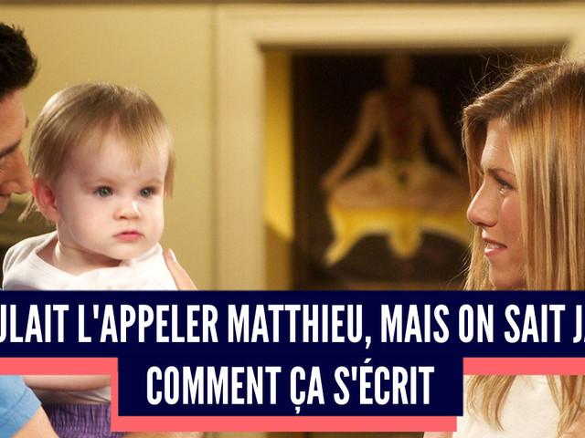 Top 10 des raisons de ne pas appeler son fils Matthieu, le prénom de l'enfer