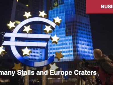 L'Allemagne stagne et l'Europe sombre. Par Alastair Crooke