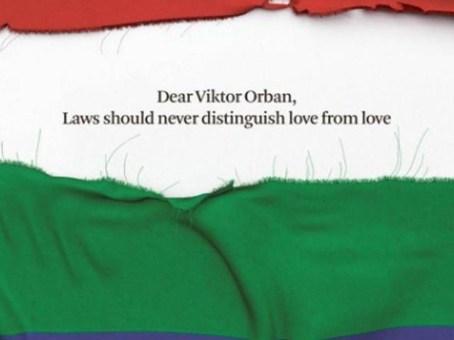 Orban fait sa pub dans des journaux européens, ce quotidien belge réplique à sa façon