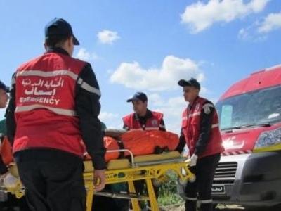 Tunisie: Accident meurtrier pour un couple à bord d'une moto percuté par une voiture