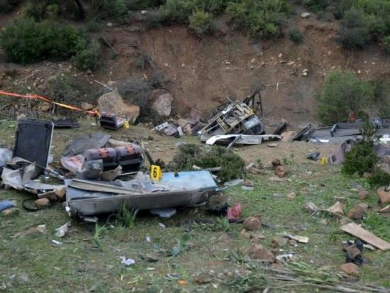 Accident de bus en Tunisie: un ministre pointe «vitesse» et «vétusté du bus»