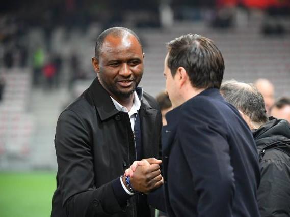 Foot - L1 - Nice - Patrick Vieira (Nice), après le nul contre Rennes: «Le groupe est en train de progresser»