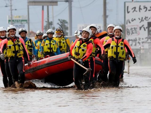 Typhon Hagibis: Tokyo déploie des dizaines de milliers de soldats et sauveteurs