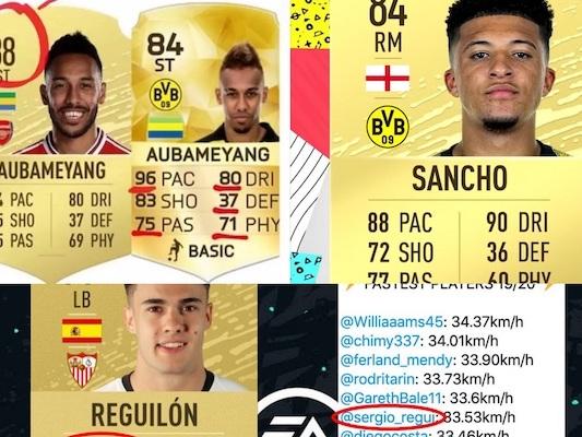 FIFA 20 – Ces joueurs qui contestent leur note individuelle