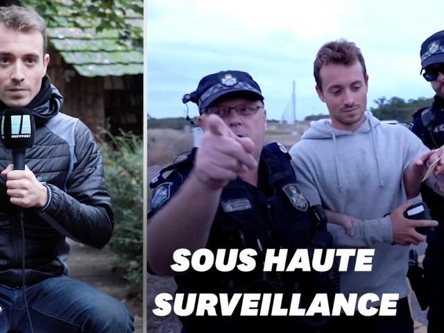 """Hugo Clément nous raconte sa traque par la police australienne pour """"Sur le front"""""""