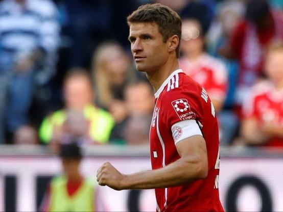 Foot - ALL - Bayern - Thomas Müller (Bayern) : «Ce n'était pas facile» contre Cologne