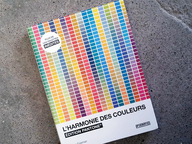Livre : L'harmonie des couleurs - édition Pantone