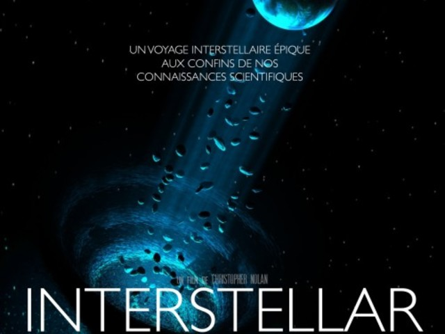 Critique de INTERSTELLAR de Christopher Nolan à 20H55 sur France 2